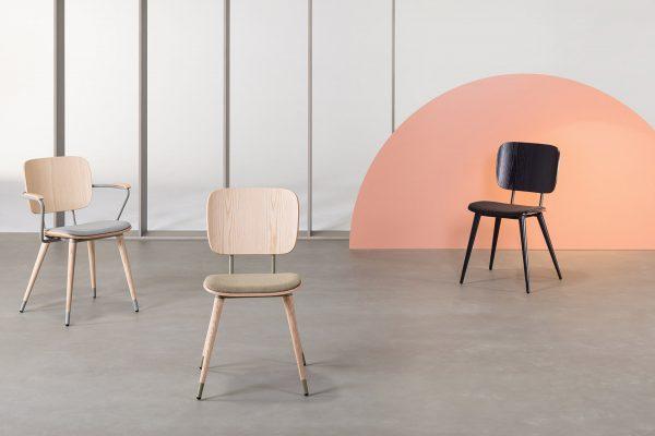 silla de madera para restaurante de verges