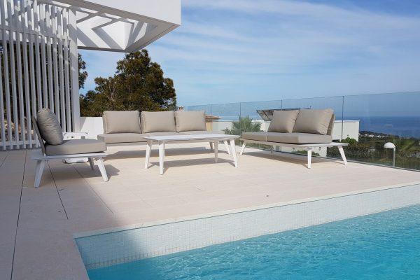 muebles de exterior para piscina