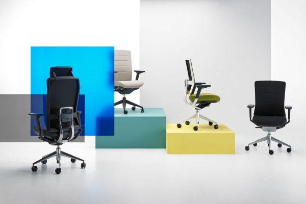 silla de oficina TNK flex de Actiu en Benicarló