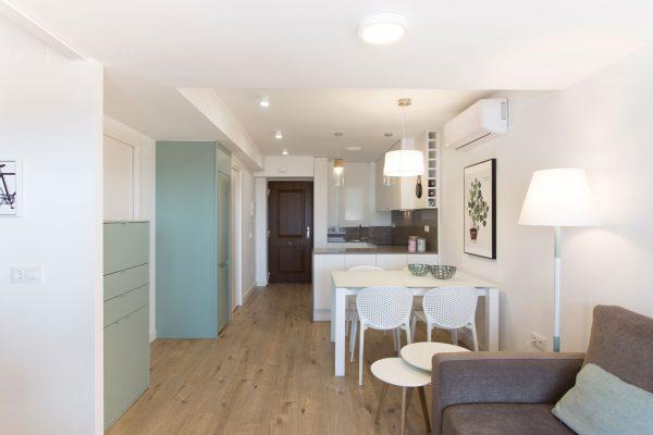 apartamento de playa estilo moderno