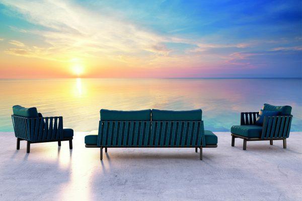 conjunto de sofás de exterior