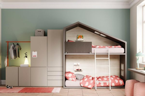 dormitorio juvenil casita de Lagrama