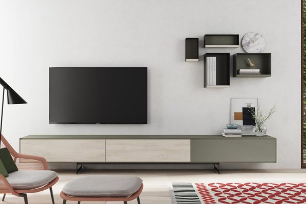 Mueble tv estilo moderno de la grama