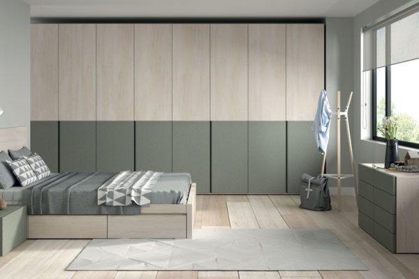 dormitorio con armario de Lagrama