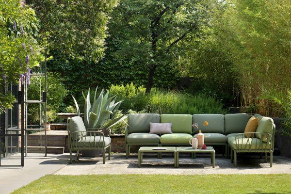 sofá modular de exterior de Nardi
