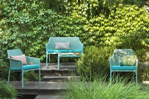 sillones y sofá de exterior