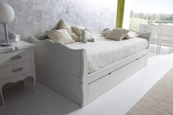 cama nido juvenil estilo romántico de Oleana en Benicarló