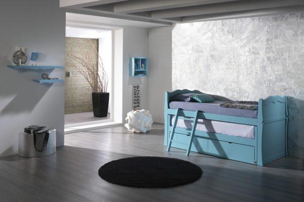 cama infantil estilo clásico de Oleana