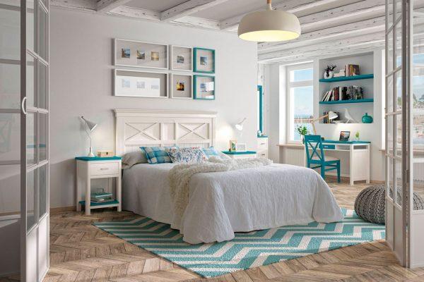 dormitorio matrimonio estilo provenzal de Grupo Seys