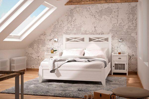 dormitorio en madera de grupo seys