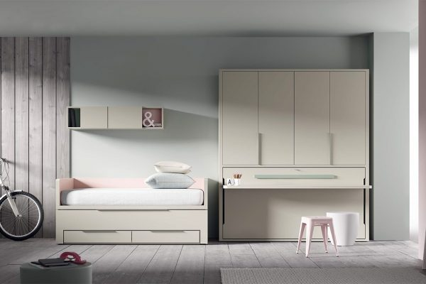 dormitorio juvenil estilo moderno de tegar mobel