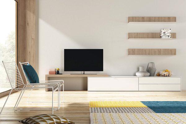 mueble salón serie natur de tegar mobel