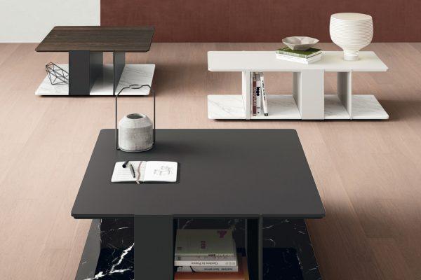 mesa de centro de diseño lacada Code de Mobenia