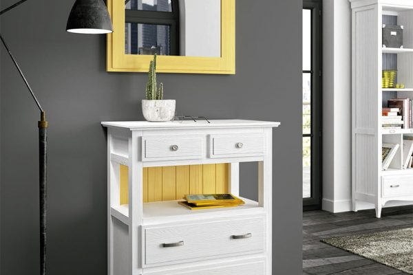 mueble auxiliar de madera de grupo seys