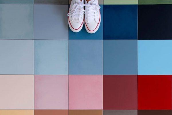 pavimento de colores de Vives