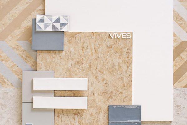 azulejo imitación madera de Vives
