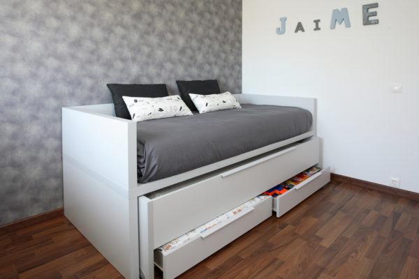 cama juvenil con cajones de tegar mobel