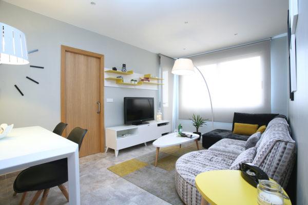 mueble tv color blanco estilo moderno