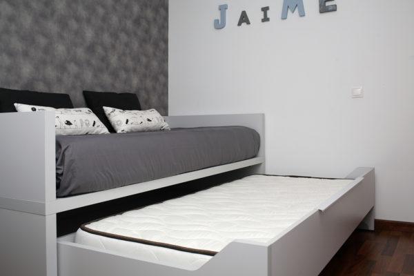 cama extraible dormitorio juvenil