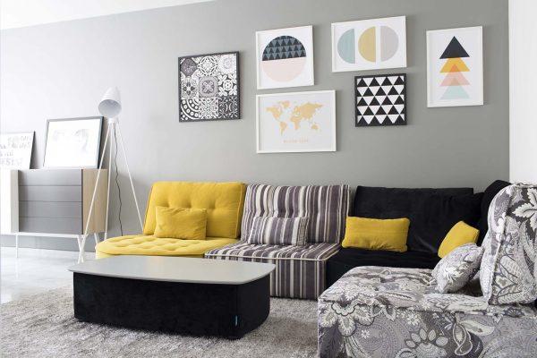 composición cuadros decorativos
