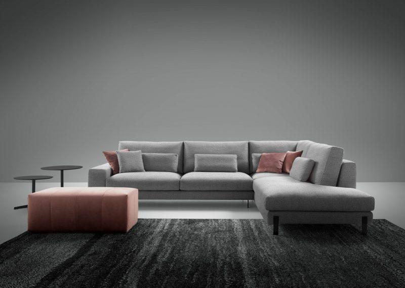 Sofá chaise longue Aero de Eneas