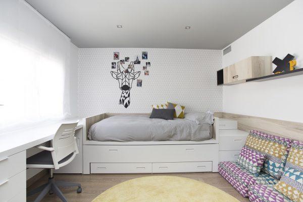 cama doble compacto premium de tegar mobel