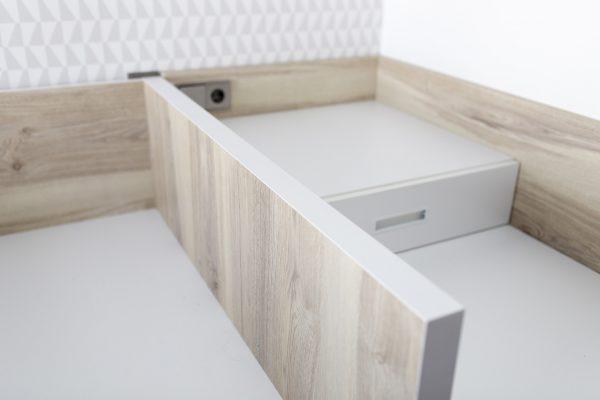 dormitorio juvenil acabado madera Legno de Tegar Mobel