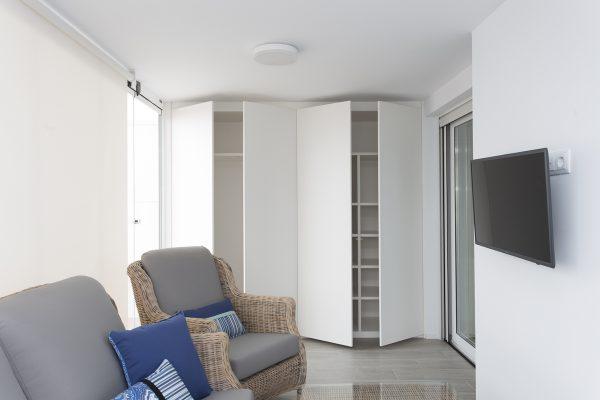 armario para terraza color blanco