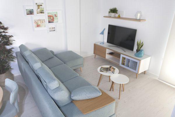 Mueble tv estilo nórdico