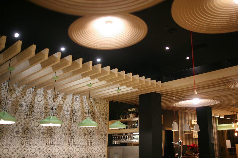 lámparas de techo decorativas