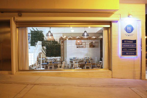 escaparate restaurante